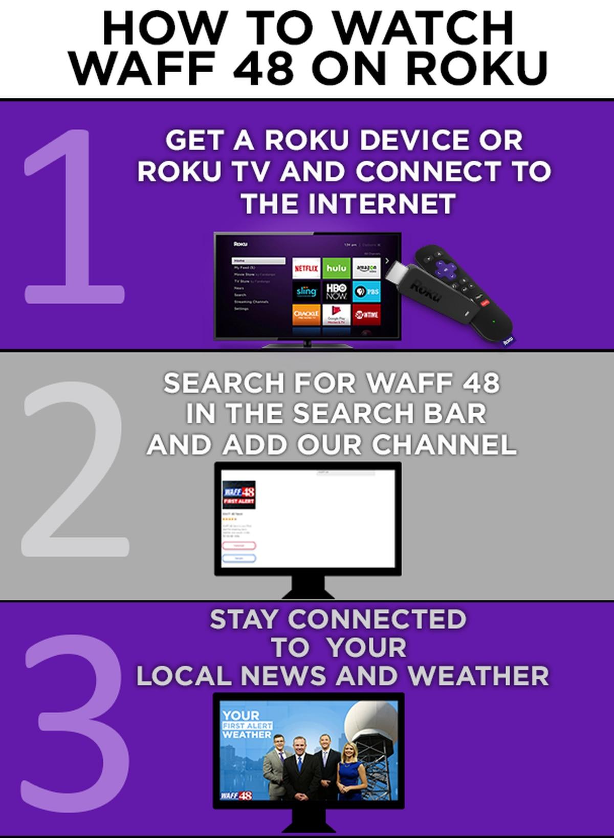WATCH WAFF 48 on ROKU
