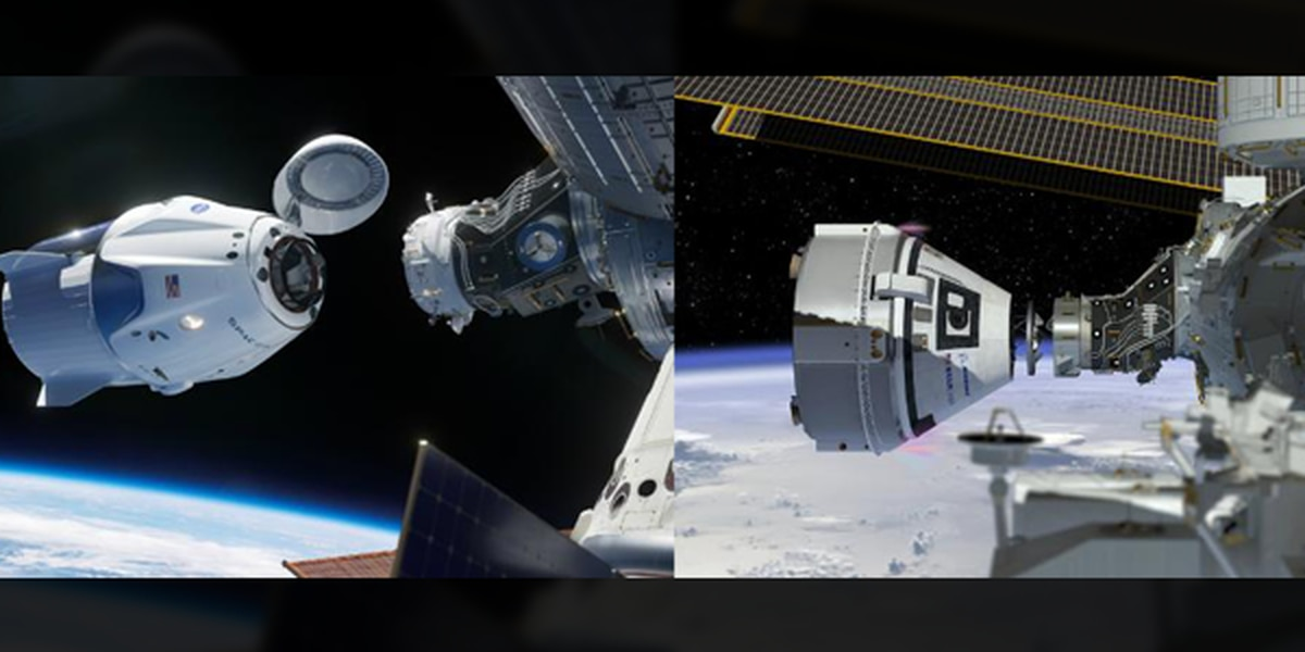 NASA names crews to Boeing and SpaceX missions