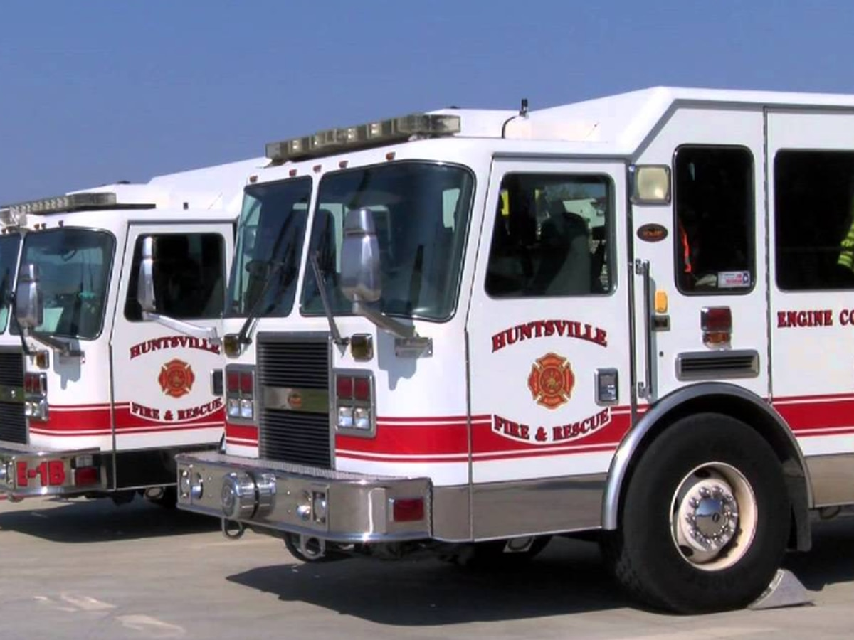 Huntsville Fire and Rescue to conduct live fire training Thursday