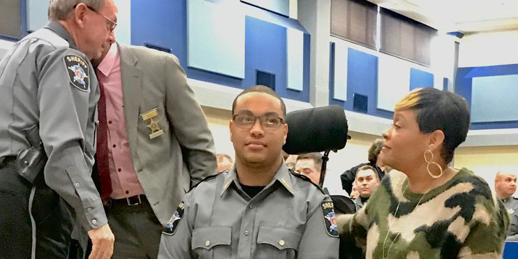 Law enforcement makes Alabama teen's dream come true