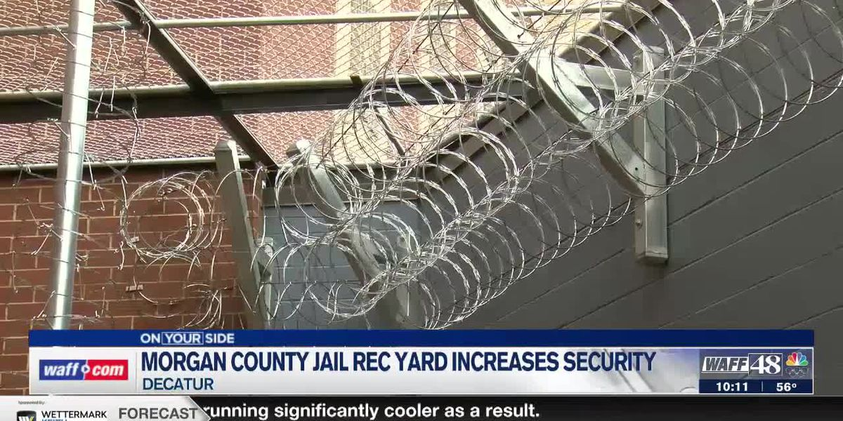 Morgan County Jail rec yard adds layer of security