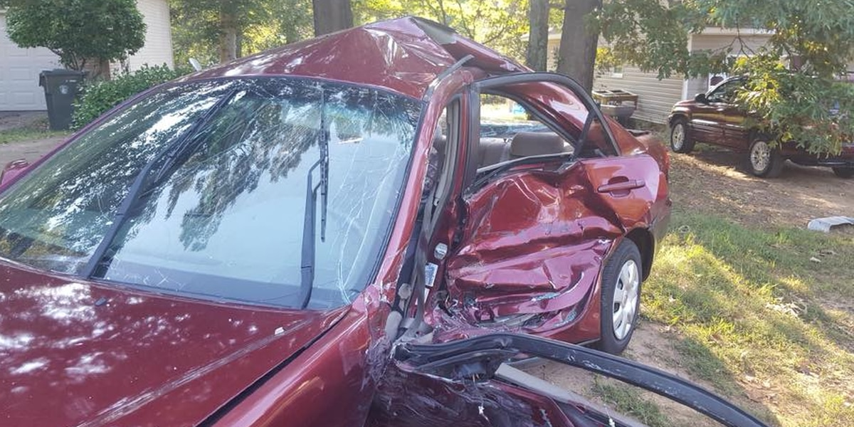 Buckhorn High School students injured in car accident