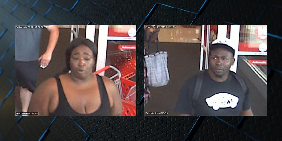 Decatur police asking for help identifying two people in Target theft