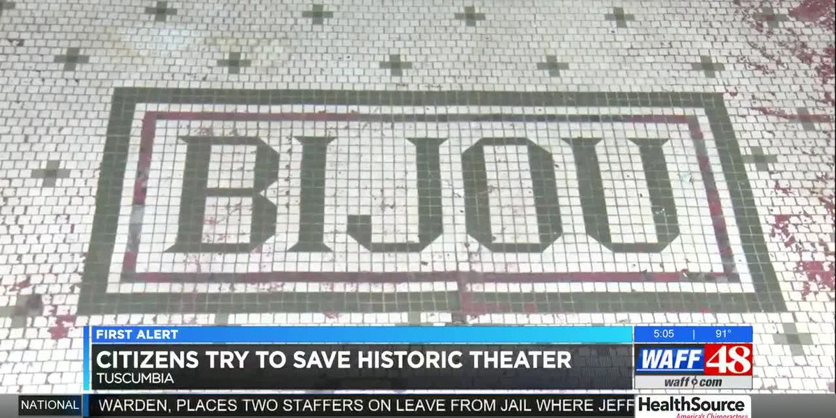 Residents try to save historic theater in Tuscumbia