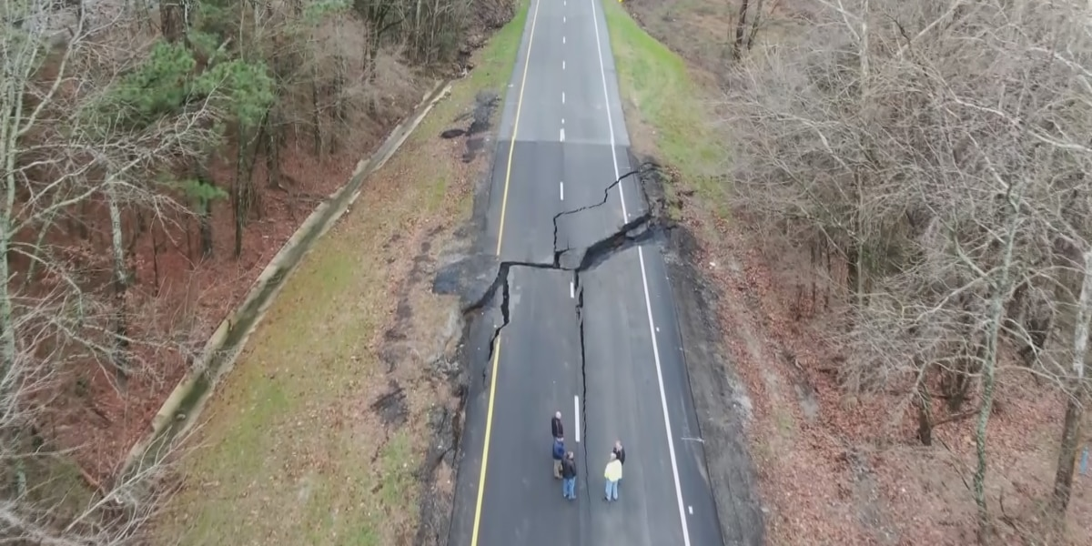 Drivers react to Highway 231 road closure near Lacey's Spring