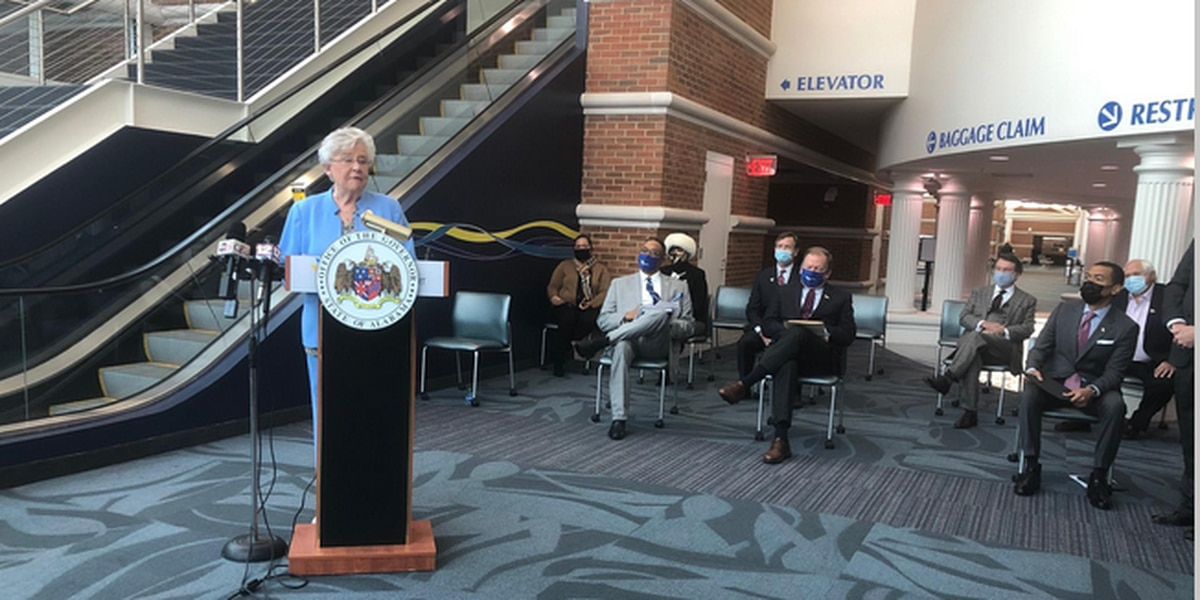 Governor Kay Ivey announces ATRIP-II projects for 2021