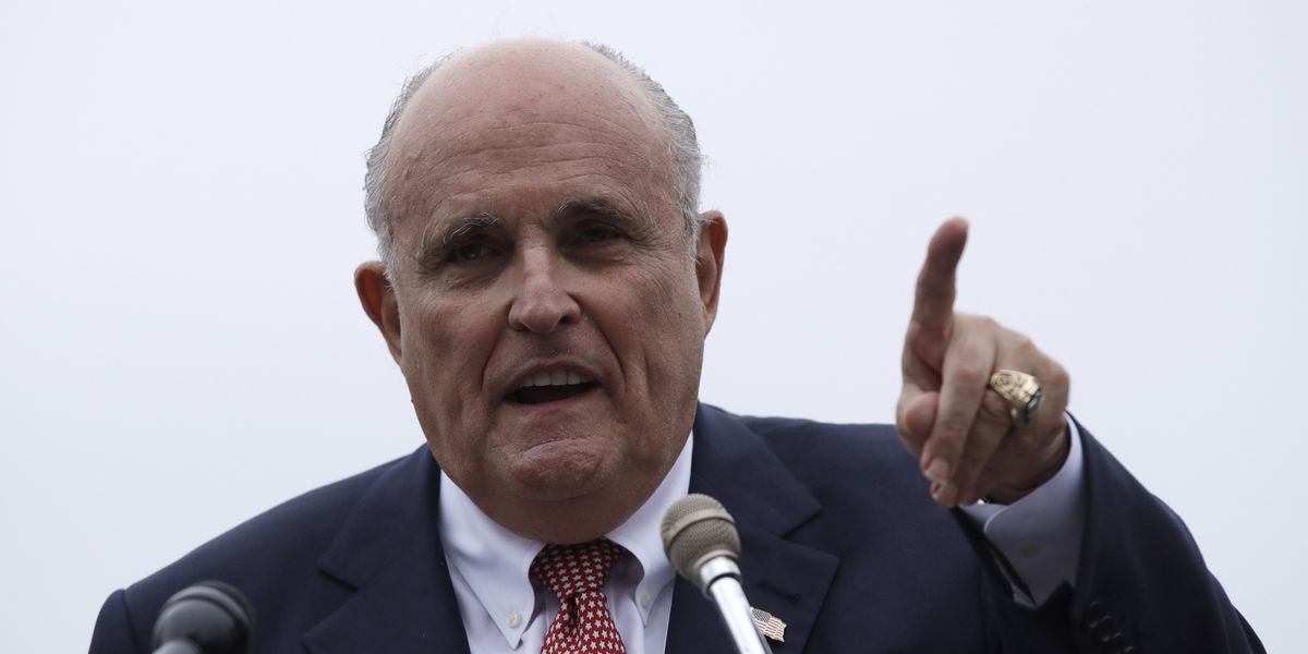 Giuliani in Ukraine as Congress moves closer to impeachment