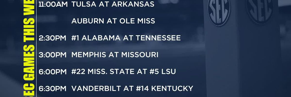 SEC Football Preview Show: Week 8