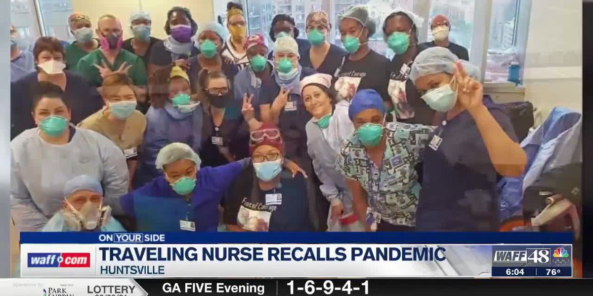 Traveling nurse returns to Huntsville, shares her pandemic experience