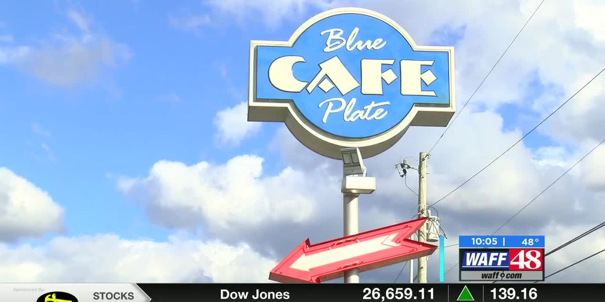 Business at Blue Plate Cafe took a hard hit from COVID-19