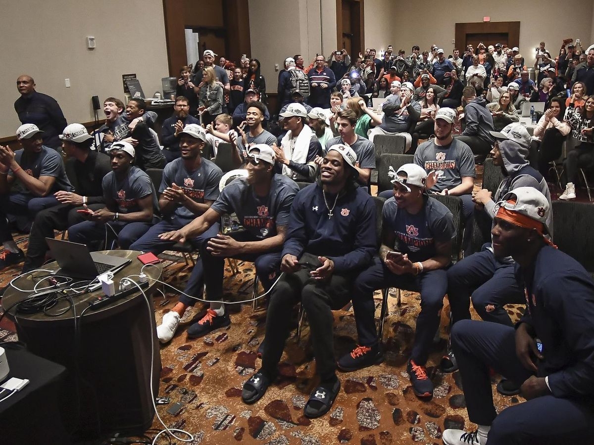 Auburn earns No. 5 seed, will face New Mexico State in NCAA Tournament