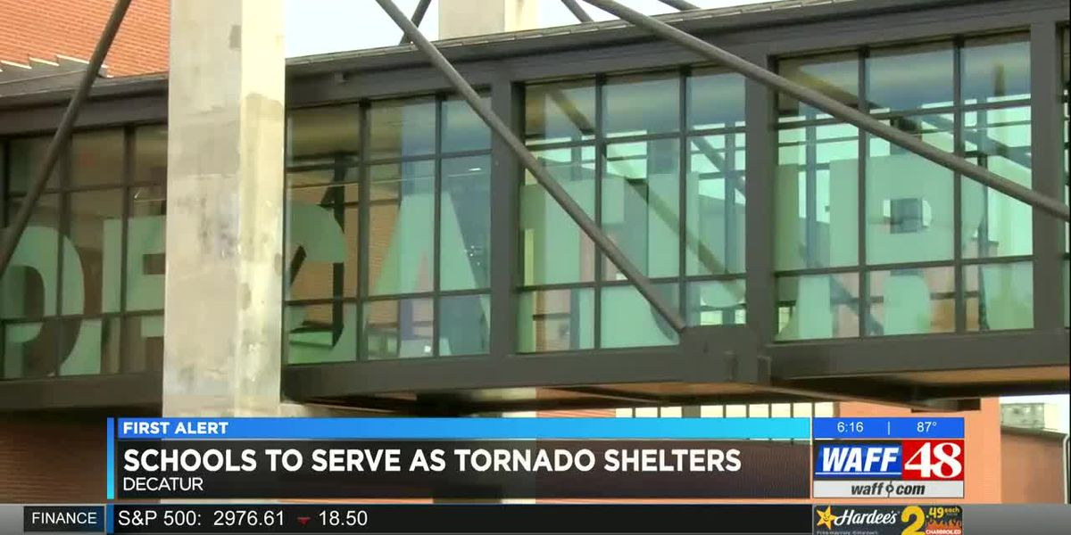 2 Decatur high schools are now also storm shelters