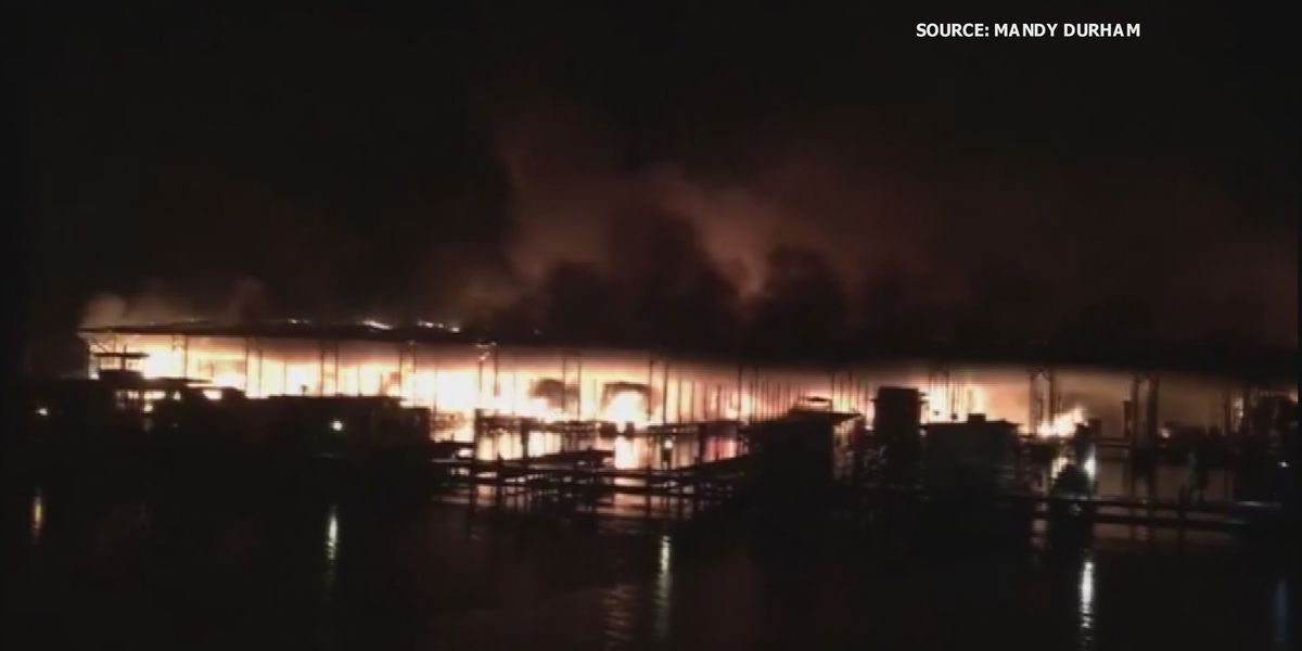 First responders reflect on deadly Jackson County Marina boat fire one year later