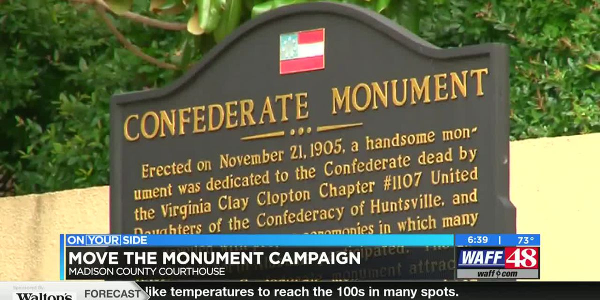 Move the Monument campaign goes to the Madison County Commission