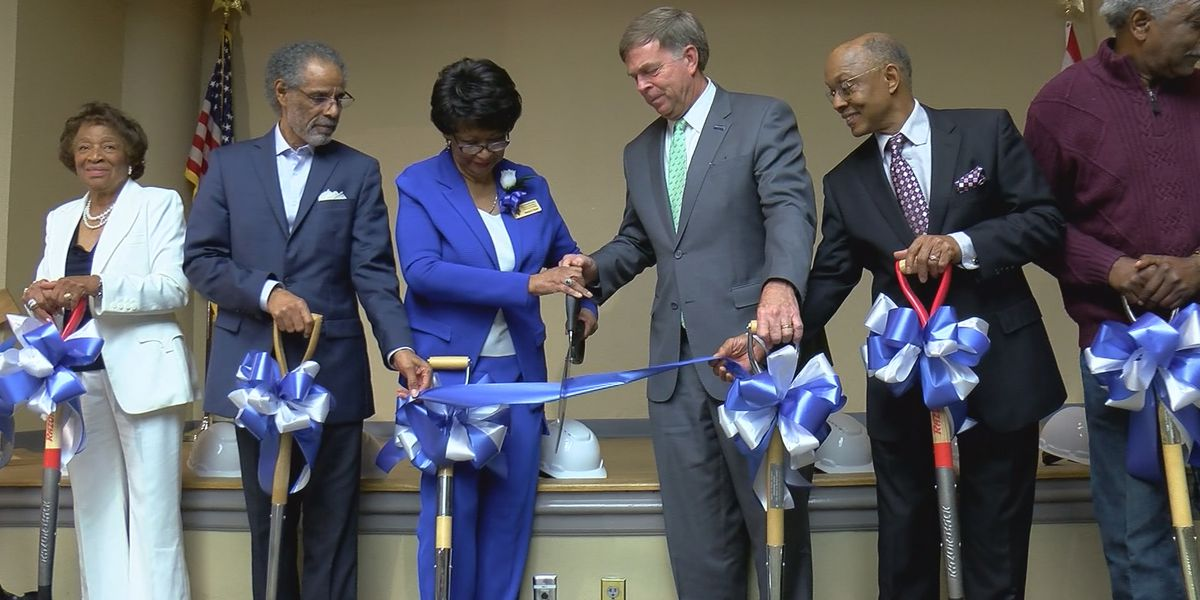 Ground broken on park commemorating Huntsville's first public black school