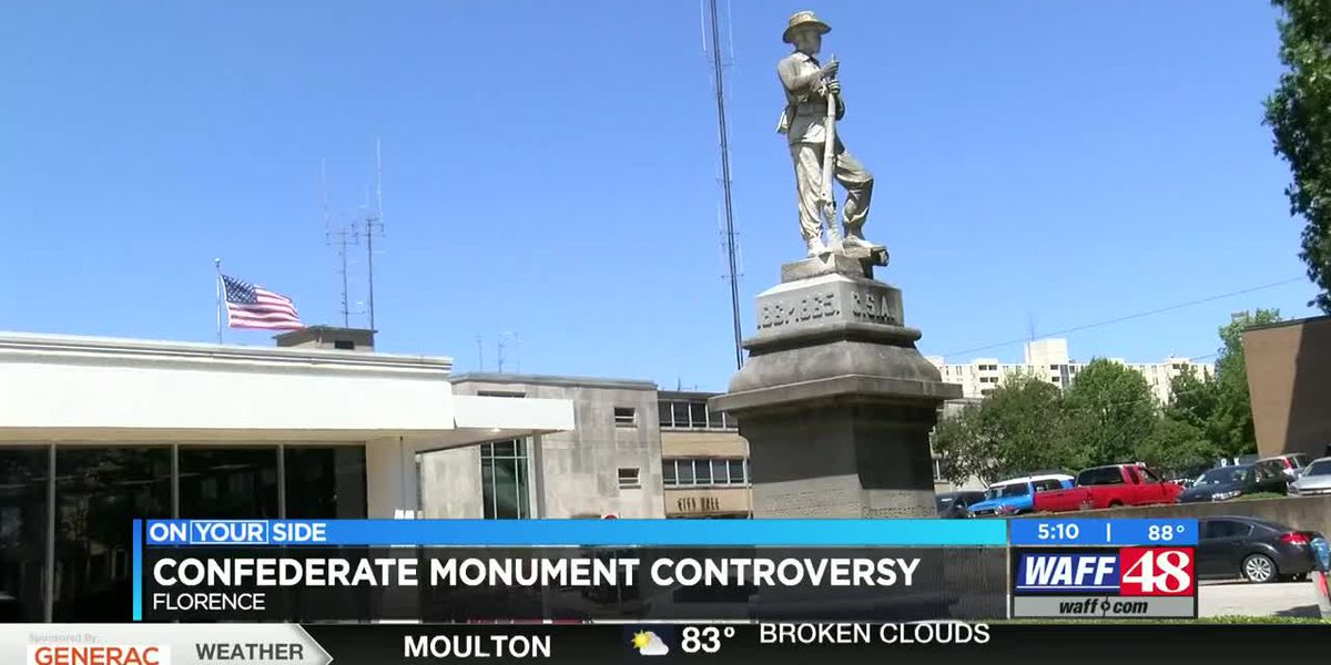 Florence confederate monument debate continues with no resolution