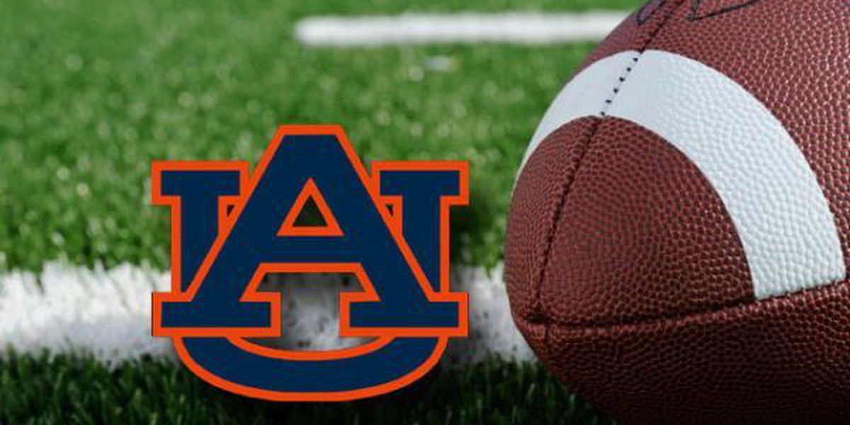 Auburn releases wide receiver Williams