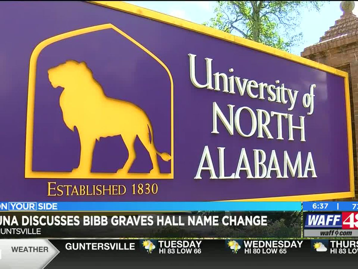 UNA responds to student's request to change the name of Bibb Graves Hall