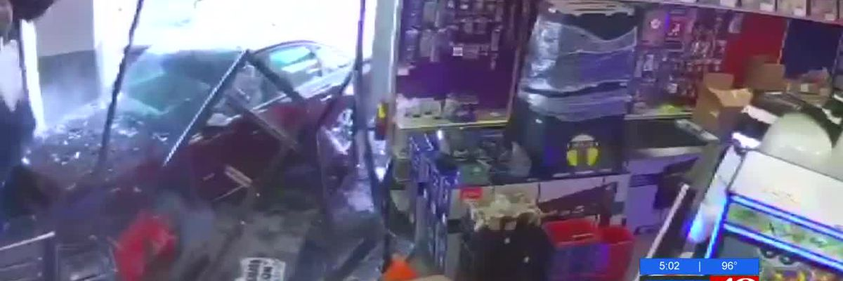 Car crashes into Florence's new party store