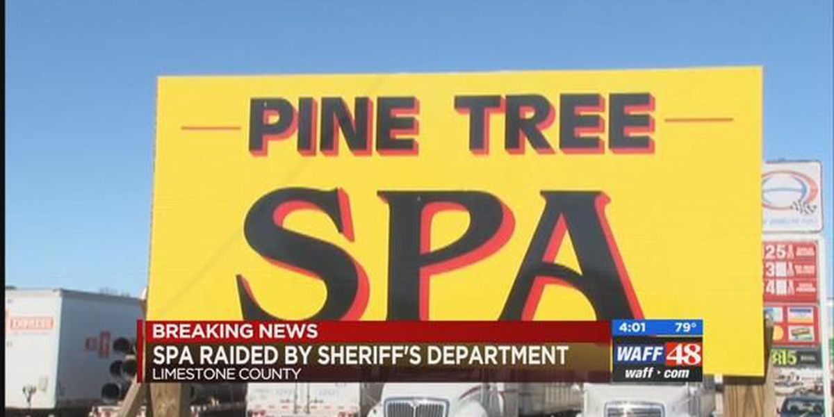 Raid conducted at VIP Spa in Elkmont