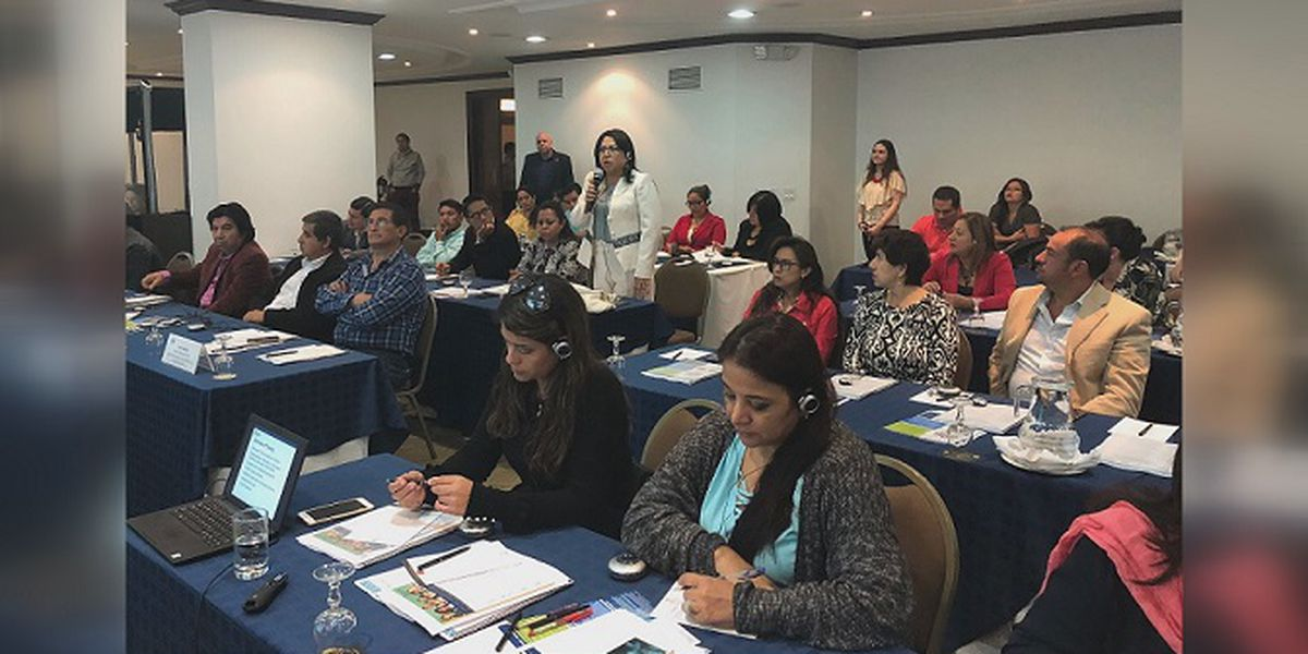 NCAC lending expertise to help child abuse victims in Ecuador