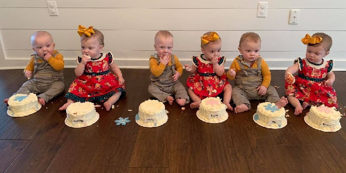 Albertville sextuplets celebrate turning 1 and getting new season of TLC show