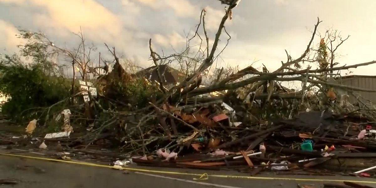 Wetumpka Tornado Damage