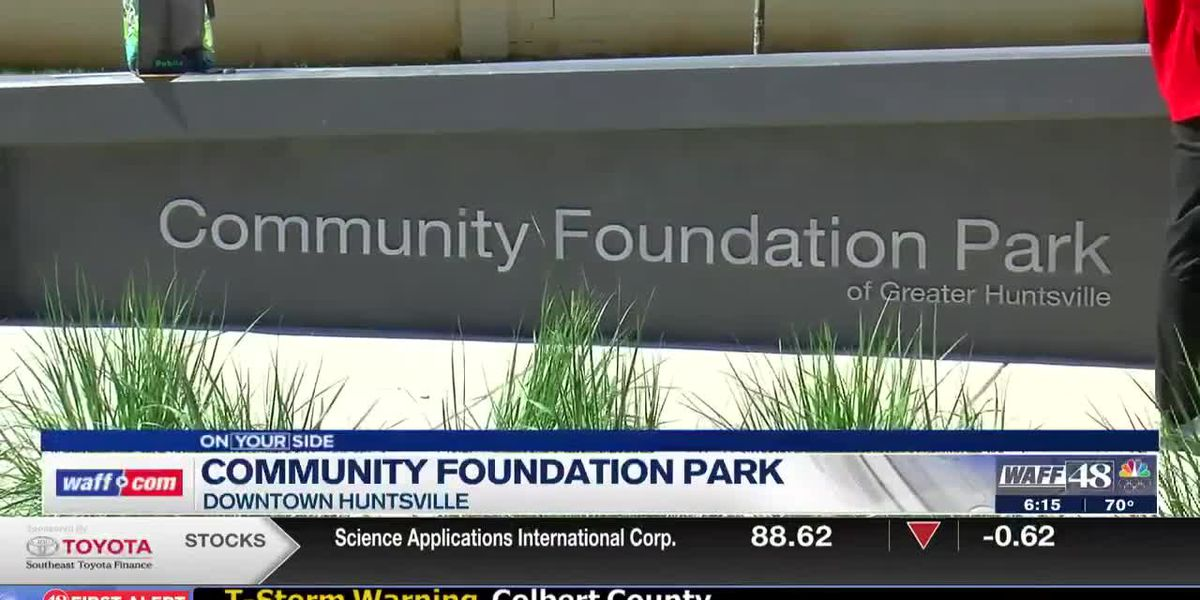 Community Foundation Park is officially open