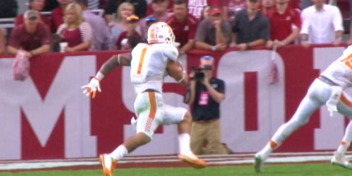 Tennessee RB Jalen Hurd to transfer