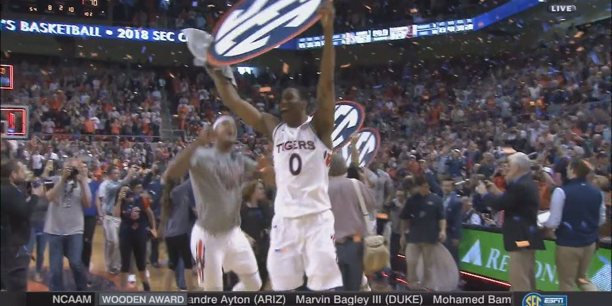 Auburn advances to SEC Tournament championship game for first time since 2000