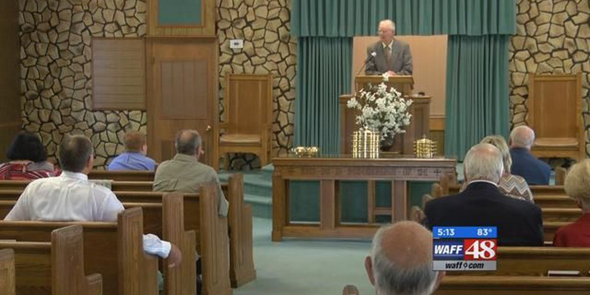 Church holds service as usual remembering lives of preacher, wife