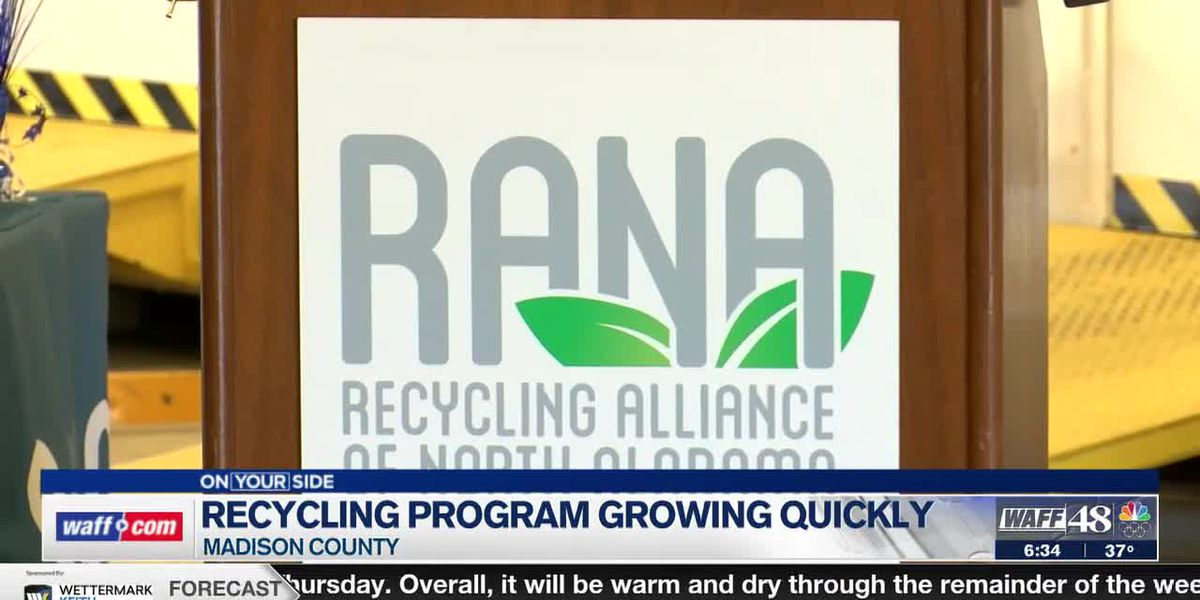 Madison County recycling program continues to grow, now serving twice as many people as old program