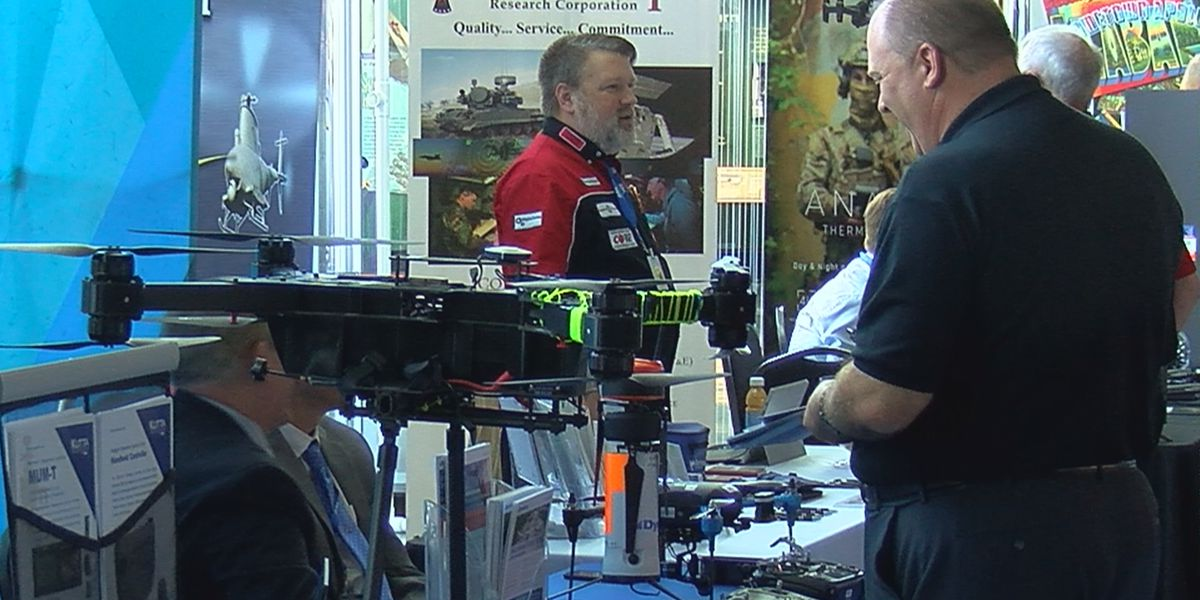 Unmanned aircraft symposium at U.S. Space & Rocket Center