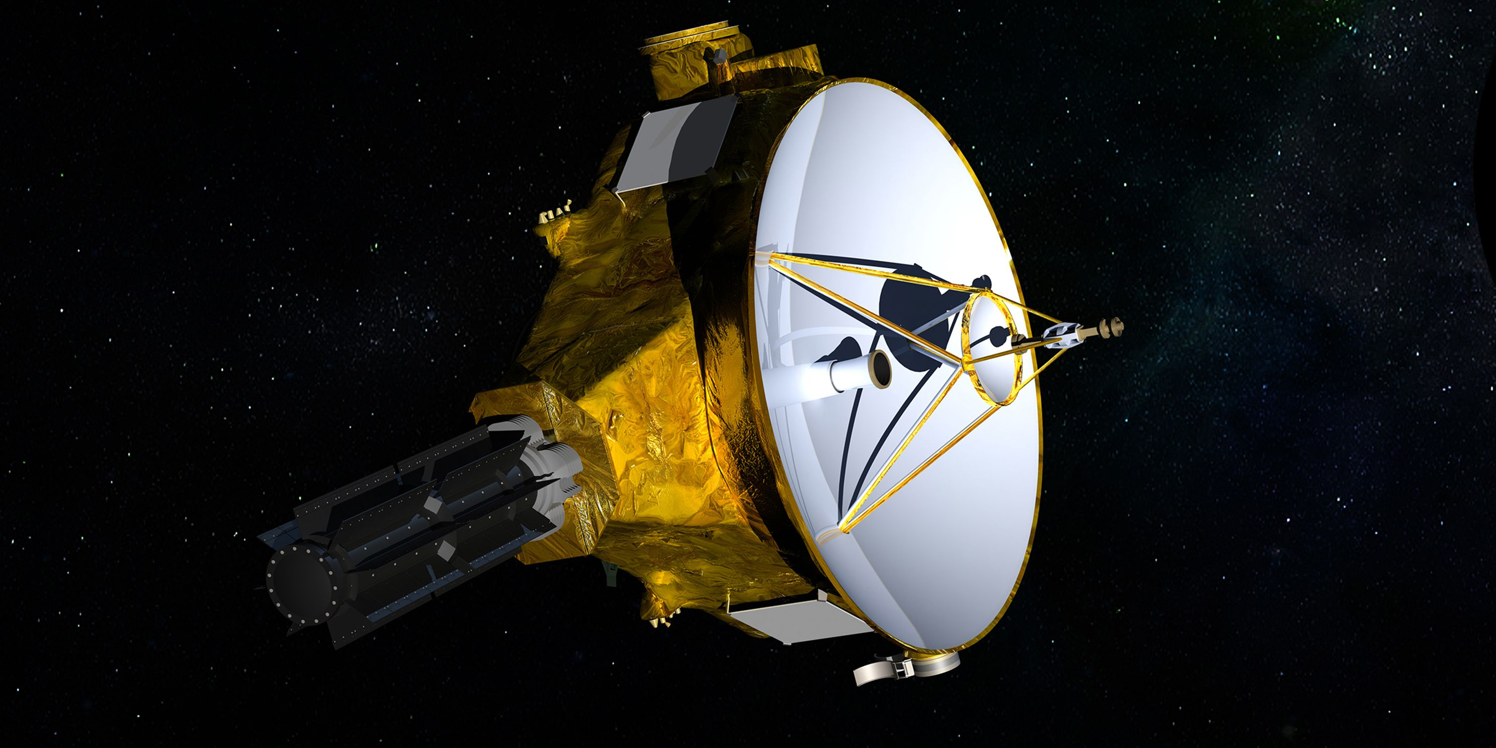 NASA spacecraft's deep-space flyby a success