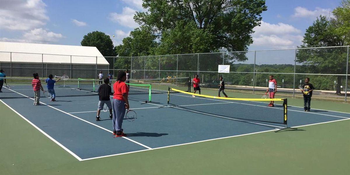 Youth development program teaches students life skills through tennis