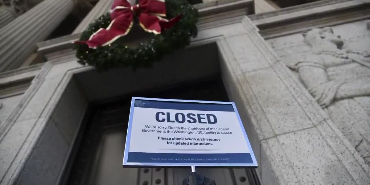Government shutdown is impacting websites you may try to use
