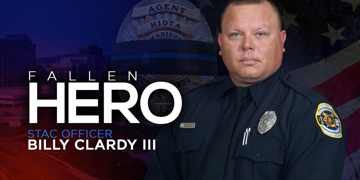 Who was officer Billy Clardy?: Huntsville's fallen hero