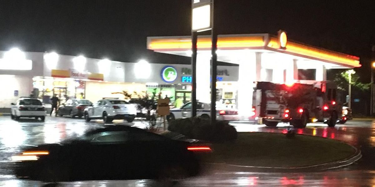 Shots fired at north Huntsville gas station