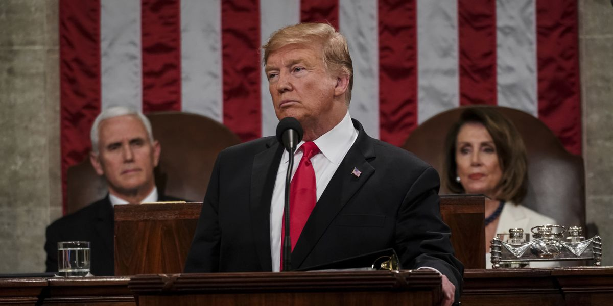 State of the Union: Trump campaigns, boasts of economic gains; Pelosi rips up speech