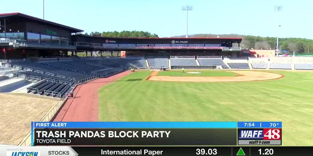 Trash Pandas hosting block party at Toyota Field