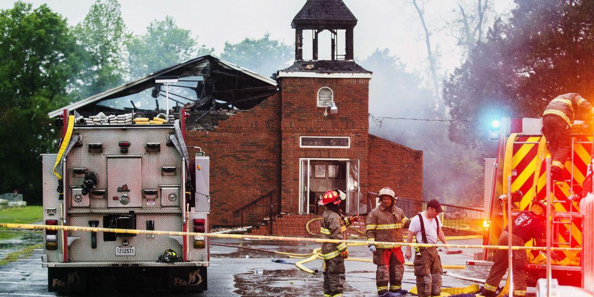 Fundraiser for black churches destroyed by arson surpasses $2 million