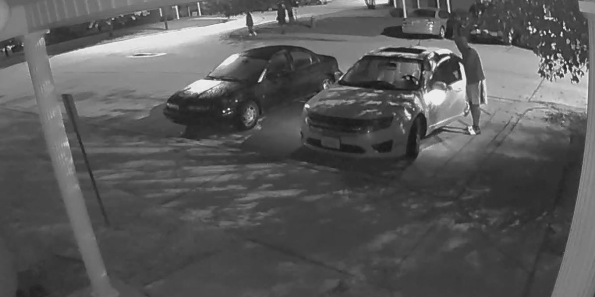 Crime Stoppers: 3 sought after unlocked cars burglarized at Huntsville apartment complex