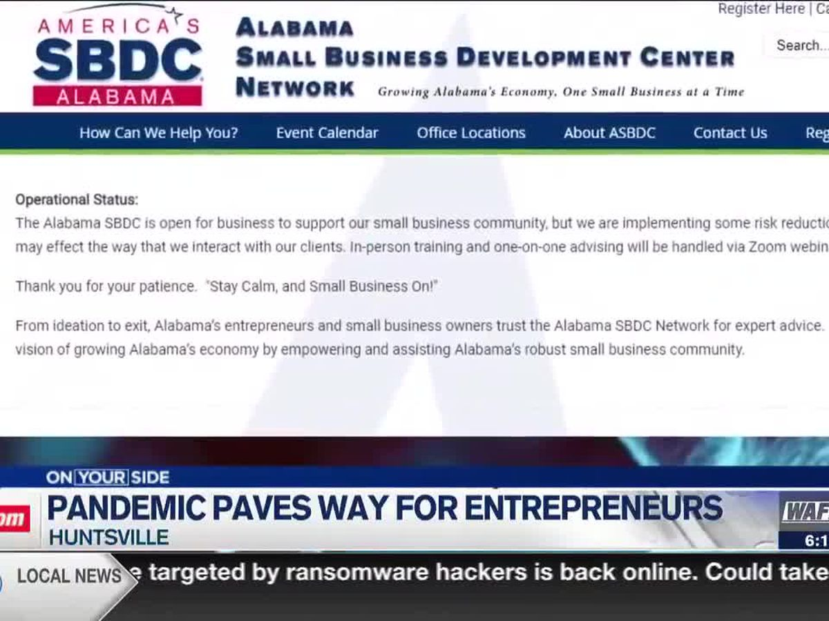 COVID-19 pandemic paves way for entrepreneurial endeavors in Huntsville