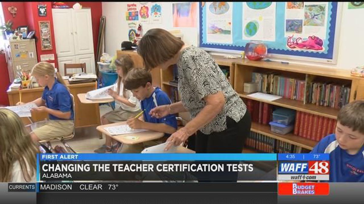 Al Superintendent Pushing To Change Teacher Certification Tests