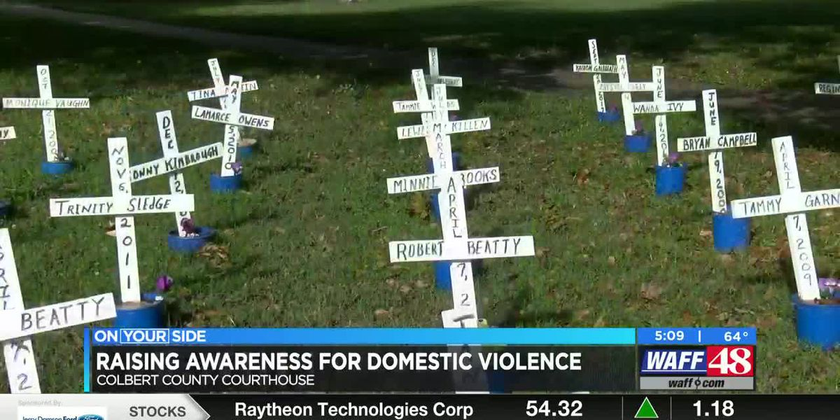 Shoals woman on a mission to raise awareness about domestic violence