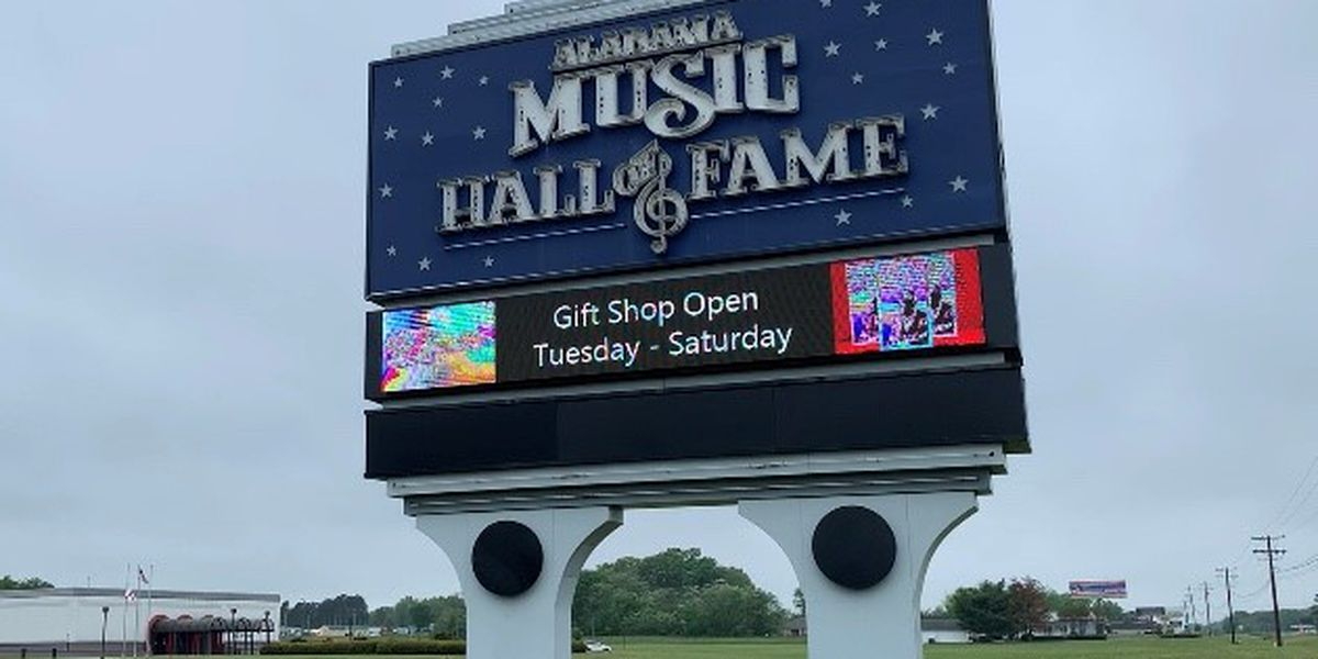 Alabama Music Hall of Fame closed during pandemic