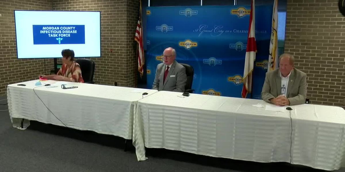 Decatur officials update COVID-19 latest on Tuesday
