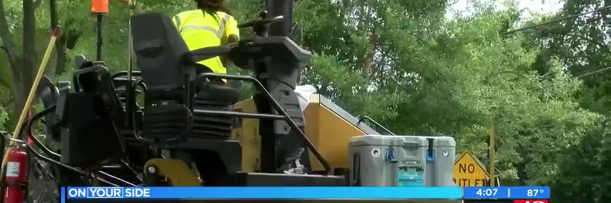 City of Florence continues paving projects on numerous streets