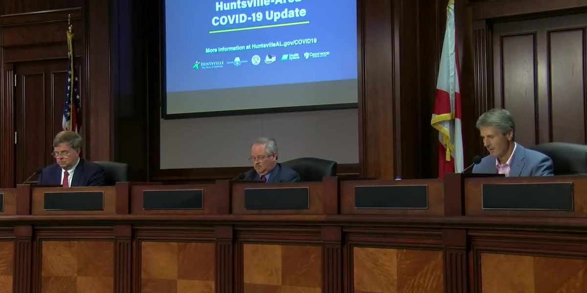 Huntsville officials discuss latest on COVID-19