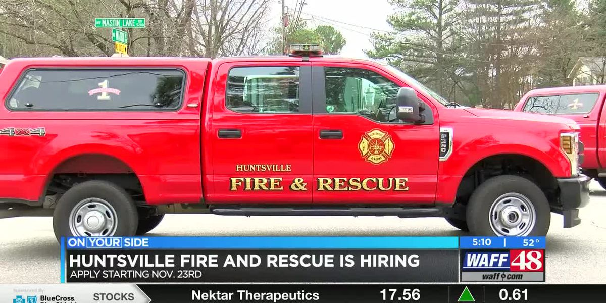 Huntsville Fire and Rescue opens application process this month